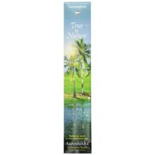 True To Nature Incense Lemongrass 10 g Auroshikha Candles & Incense