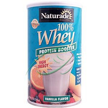 100% Whey Protein Booster Vanilla Flavor 12 oz (340 g) From Naturade
