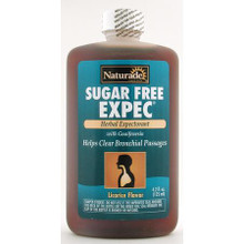 Herbal Expectorant Cough Syrup Sugar-Free 4 oz from Naturade
