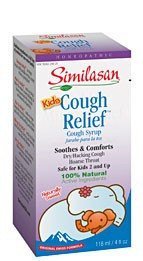 Kids Cough Relief Syrup 4 oz From Similasan