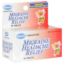 Homeopathic Migraine Headache Relief 60 Tablets From Hyland's