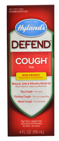 Defend Cough Syrup 4 OZ From HYLANDS
