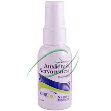 Anxiety & Nervousness 2 fl oz (59 ml) From King Bio Homeopathic