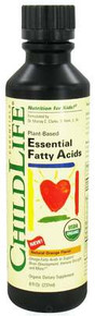 Child Life Essentials  Essential Fatty Acids Organic Oil Blend Natural Orange  8 oz.
