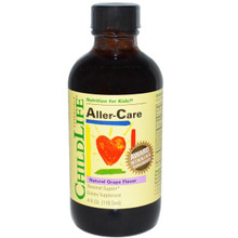 ChildLife Essentials Aller-Care Natural Grape Flavor 4 fl oz (118.5 ml)