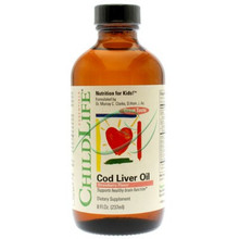 Cod Liver Oil Strawberry Flavor 8 fl oz From Childlife