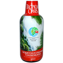 Liquid Glucosamine & Chondroitin with MSM & Vitamin C 16 oz From Tropical Oasis