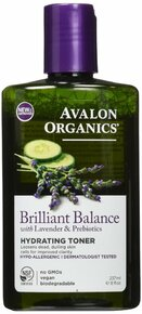Brilliant Balance Hydrating Toner 8 OZ By Avalon Organic Botanicals