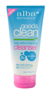 Alba Botanica Good & Clean Daily Detox Foaming Cleanser 6 oz (170 g)