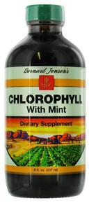 Chlorophyll Mint Flavor 8 oz Bernard Jensen