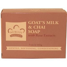 Bar Soap Goat's Milk & Chai 5 oz From Nubian Heritage