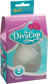 The Diva Cup Menstrual Cup Model 2 Over 30 Years Single Cup From Diva International