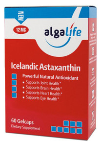 Icelandic Astaxanthin 12mg 60 CAPSULE By Algalife