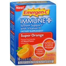 Emer'gen-C Immune +  Super Orange 10 CT From ALACER