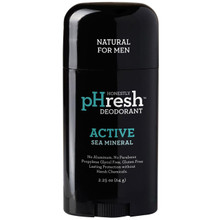 Deodorant Active Sea Mineral 2.25 OZ From HONESTLY PHRESH