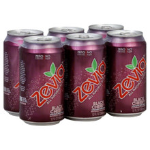 Black Cherry, 24 of  12 OZ, Zevia