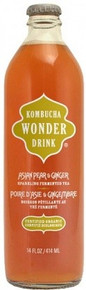 Asian Pear & Ginger, 12 of 14 OZ, Kombucha Wonder Drink