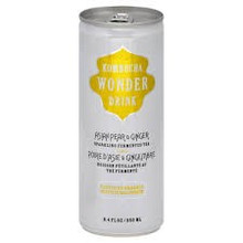 Asian Pear Ginger, 24 of 8.4 OZ, Kombucha Wonder Drink