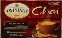 Chai, Decaf, 6 of 20 BAG, Twinings