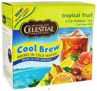 .com offers Celestial Seasonings Cool Brew Tropical Fruit Iced ...