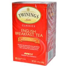 Breakfast, English, Decaf, 6 of 20 BAG, Twinings