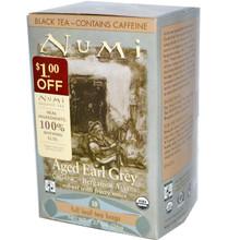 Aged Earl Grey FT, 6 of 18 BAG, Numi Tea