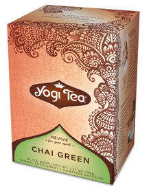 Chai, Green, 6 of 16 BAG, Yogi Teas