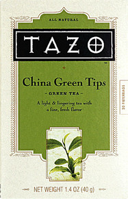 China Green Tips, 6 of 20 BAG, Tazo