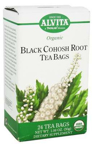 Black Cohosh, 24 BAG, Alvita Tea