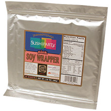 Pink Soy Wrapper 3.5 oz  From Yama MotoYama