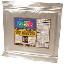 Turmeric Yellow Soy Wrapper 3.5 oz  From Yama MotoYama