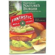 Nature Burger, 3 of 3.33 LB, Fantastic World Foods