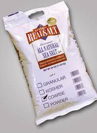 Salt, Granular, 25 LB, Real Salt