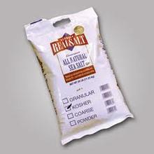 Salt, Kosher, 25 LB, Real Salt
