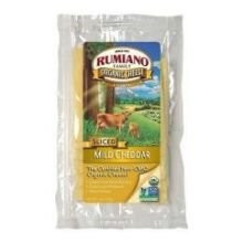 Cheddar, Mild, RBST Free, 12 of 8 OZ, Rumiano