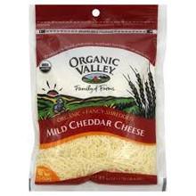 Mild Cheddar, Shrd Angel Hair, 12 of 6 OZ, Organic Valley