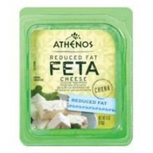 Feta Chunk, Reduced Fat, 12 of 6 OZ, Athenos