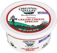 Cream Cheese Spread, 12 of 8 OZ, Organic Valley