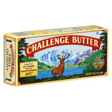 Butter, Salted, 30 of 1 LB, Challenge Dairy Products