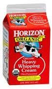 Heavy Whipping Cream, 12 of 16 OZ, Horizon