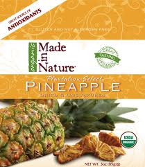 Pineapple Bits, 12 of 3 OZ, Made In Nature