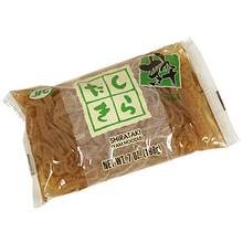 JFC Brown Shirataki Yam Noodles 7.0 oz  From Shirakiku
