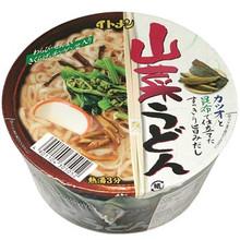 Kinugawa Instant Udon Noodles 2.82 oz  From AFG
