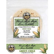 Green Chile Corn, 12 of 8 CT, La Tortilla Factory