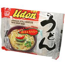 Myojo Hot & Spicy Udon Noodle Soup 7.22 oz  From Myojo