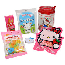 Hello Kitty Candy Gift Set in Collectible Pouch  From AFG