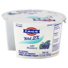 Blueberry, 2%, 12 of 5.3 OZ, Fage