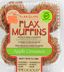 Apple Cinnamon, 6 of 14 OZ, Flax4Life