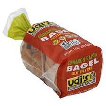 Bagel, Cinnamon Raisin 4 pk, 8 of 14 OZ, Udi'S Gluten Free