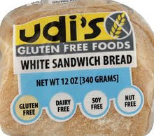 Bread, White Sandwich, 8 of 12 OZ, Udi'S Gluten Free